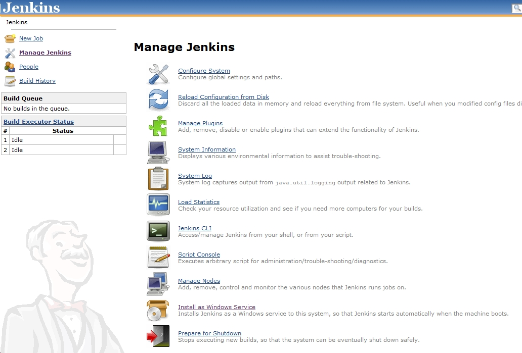 Setup – Jenkins and Windows | Some thoughts, ideas and fun!!!